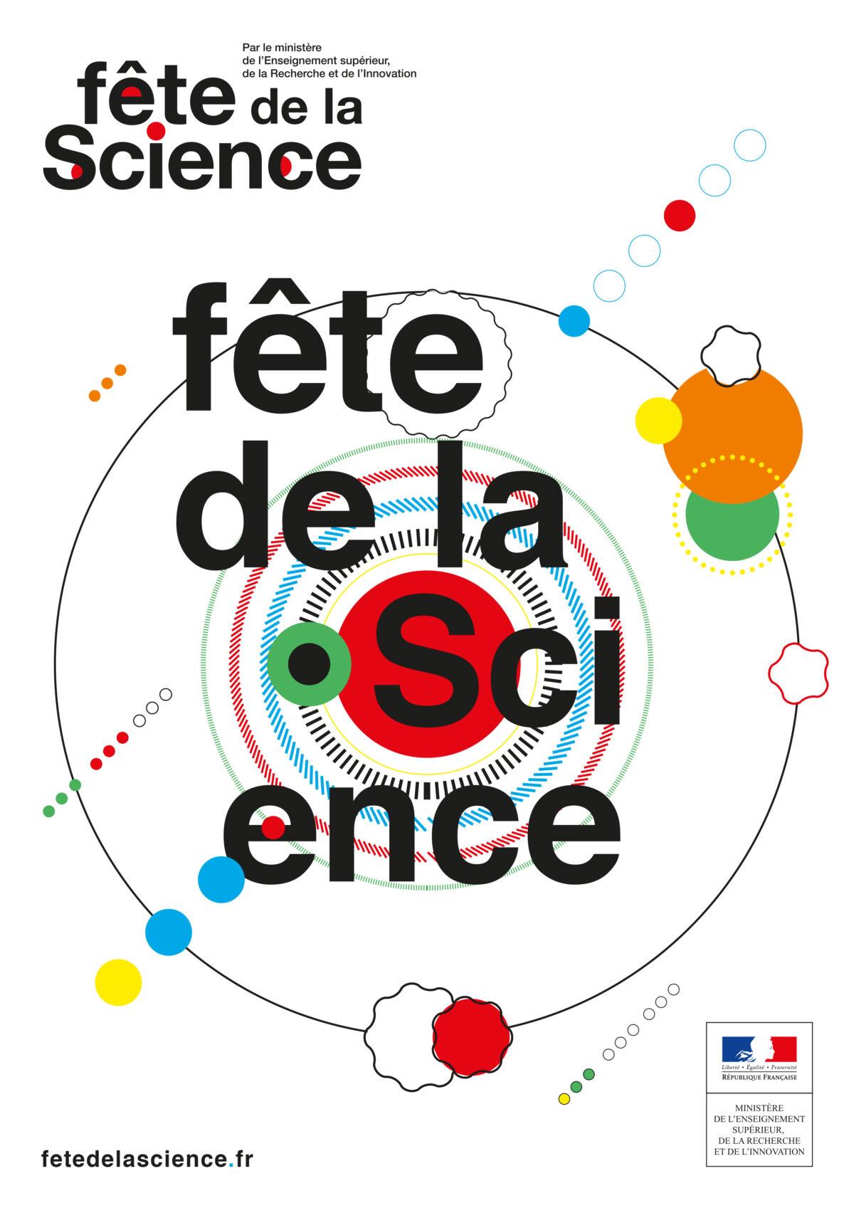 Logo Visuel Fête de la Science