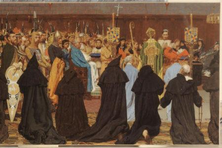 Les funérailles de Charles le Bon