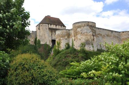 Porte des Champs du chateau de Caen