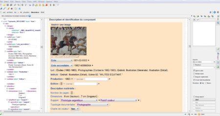 Structuration données tapisserie de Bayeux
